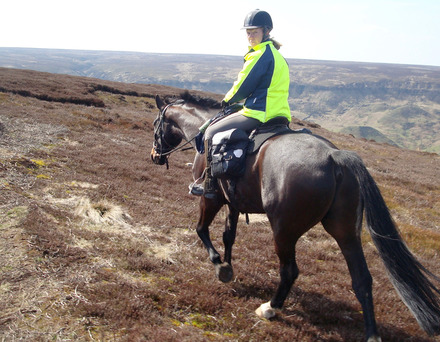 Riding on the high moors near Glaisdale